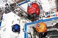 'Spheres' zijn balvormige drones / robots / minisatellieten