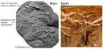 Curiosity vindt kalkrijke afzettingen op Mars, zoals gips