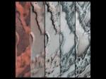 Video: hoe 'rook' van kooldioxide ijs op Mars donker zand doet bewegen