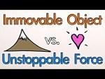 Video: een onbeweegbaar object versus een niet te stoppen kracht… wie wint?