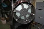 """Winterpret…zelfbouw 20cm F5 """"Schrootscoop""""….FIRST LIGHT!!!"""