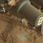 Curiosity's eerste poging om te boren op Mars is geslaagd
