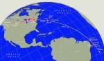 'Vuurbol processie' van 9 februari 1913 was maar liefst 11.000 km lang