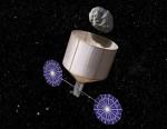 Video: animatie van de vangst van een planetoïde door een NASA-missie