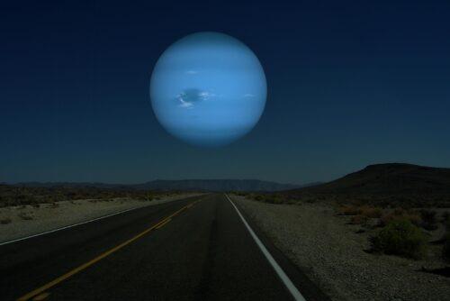 Neptunus als maan