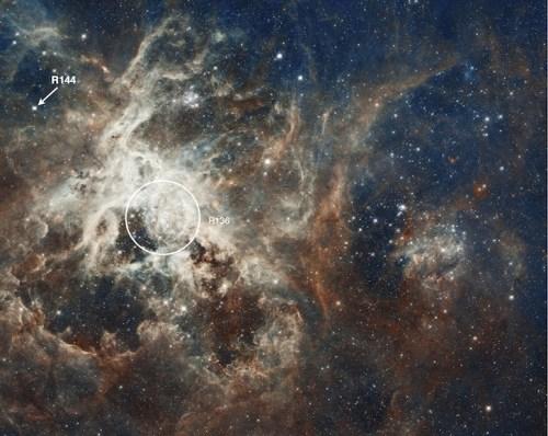 R144 in Tarantula Nebula