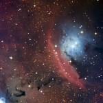 Een chaotisch stervormingsgebied