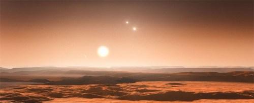 Gliese 667 ABC sterren