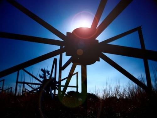 Een antenne van de MWA