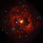 Piepjonge pulsar waargenomen door Chandra