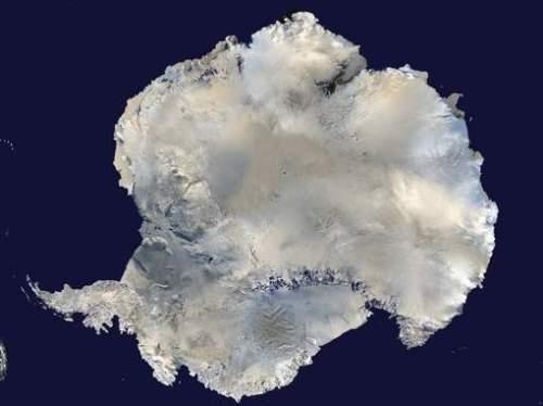 Satellietbeeld Antarctica