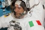 Luca Parmitano's eerste ruimtewandeling geslaagd