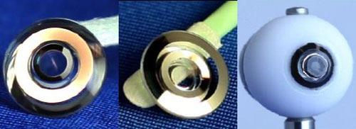 Lens met ingebouwde telescoop (credit: Optics Express)