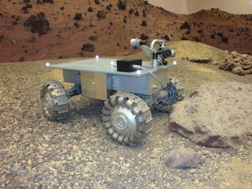 prototype rover in de Marstuin