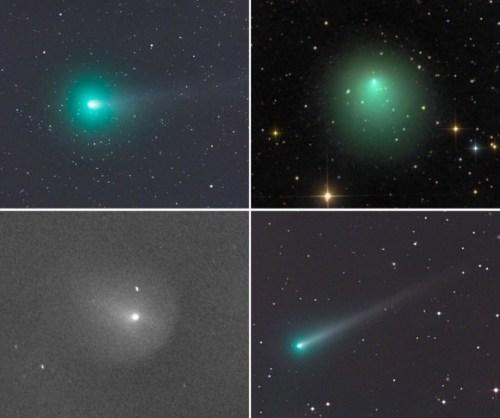 1 vier kometen