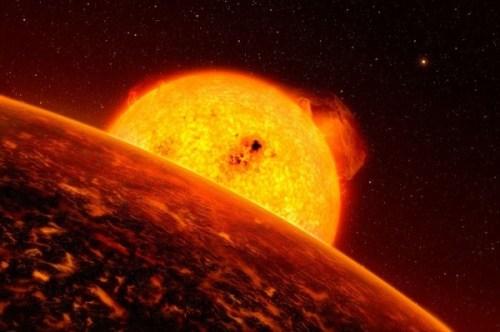 exoplaneet met ultrakorte omloopbaan