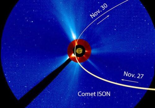 De NASA laat zien hoe de zon komeet ISON laat koken