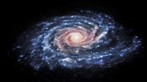 Een impressie van onze Melkweg