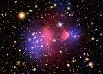 Wie kwam als eerste aan met de term 'donkere materie'?