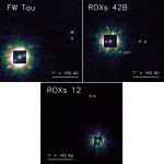Drie jonge exoplaneten direct gefotografeerd