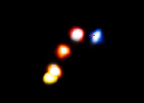De stofrijke wolk G2 passeert het superzware zwarte gat in het centrum van de Melkweg.