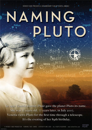 Naming Pluto lores poster