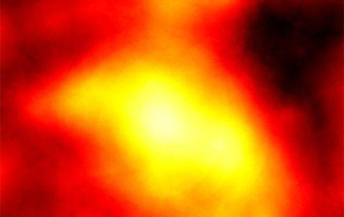 De waargenomen gammastraling vanuit Reticulum 2.