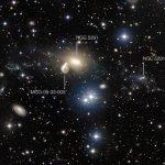 VLT bekijkt een vreemde kosmische botsing