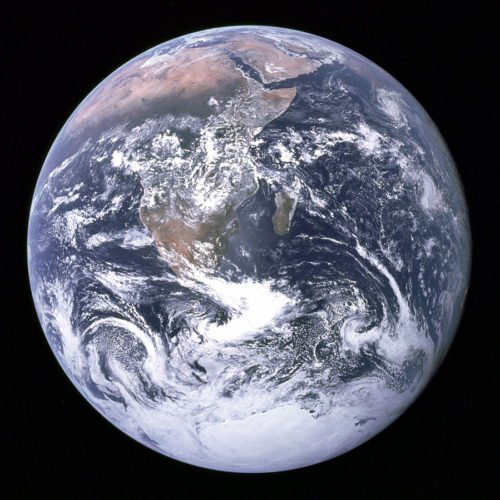 The Blue Marble, credits: NASA.
