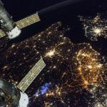 Een prachtig kiekje op West-Europa vanuit het ISS