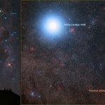 VLT gaat zoeken naar planeten bij Alfa Centauri