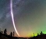 Onbekend lichtverschijnsel aan de hemel waargenomen