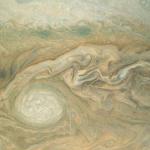 Kunst? Nee, Jupiter tijdens Juno's vijfde perijove