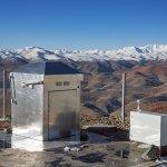 Exoplanetenjager op ESO's La Silla-sterrenwacht ziet eerste licht