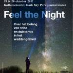 19e symposium Waddenacademie over 'Feel the Night' in het waddengebied