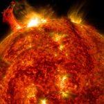 Binnen 100 jaar zou een krachtige zonnevlam onze technologie om zeep kunnen helpen