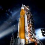 Hoe staat het met Exploration Mission 1 van NASA's Space Launch System?
