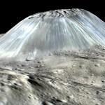 Lichte gebieden op Ceres wijzen op geologische activiteit