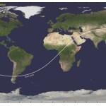 Chinees ruimtestation Tiangong-1 vannacht opgebrand in atmosfeer boven Stille Oceaan