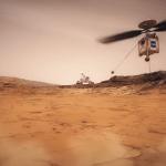 De NASA wil in 2020 een kleine helikopter naar Mars sturen