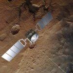 Mars Express ontdekt meer met vloeibaar water onder zuidpoolijs van Mars