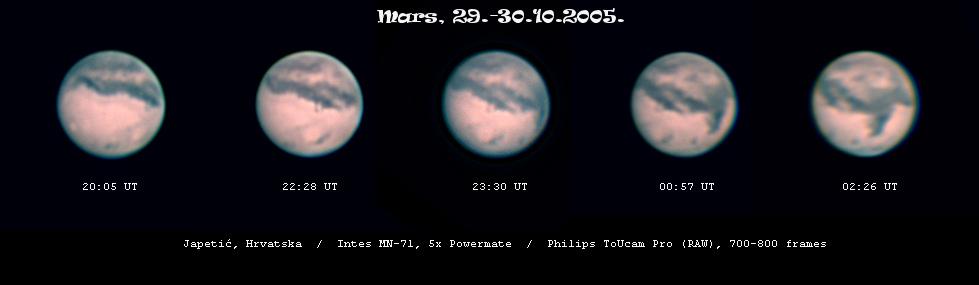 Mars u opoziciji 2005.