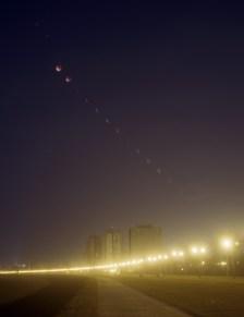 Sekvenca potpune pomrčine Mjeseca, 2009.