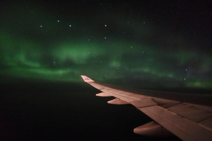 Aurora iznad Atlantika, 1.9.2017.