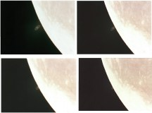 Luna occulta Saturno