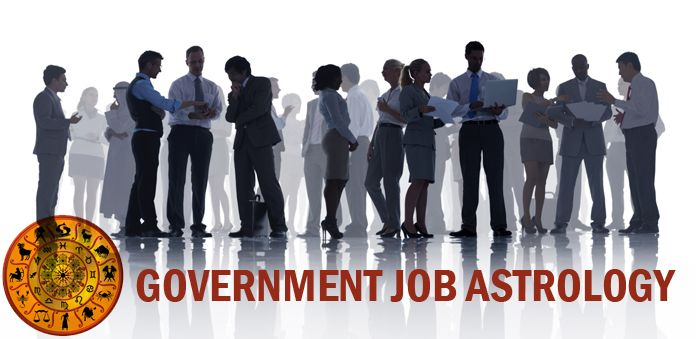 Government Job Astrology | Sarkari Naukri Yog in Kundli