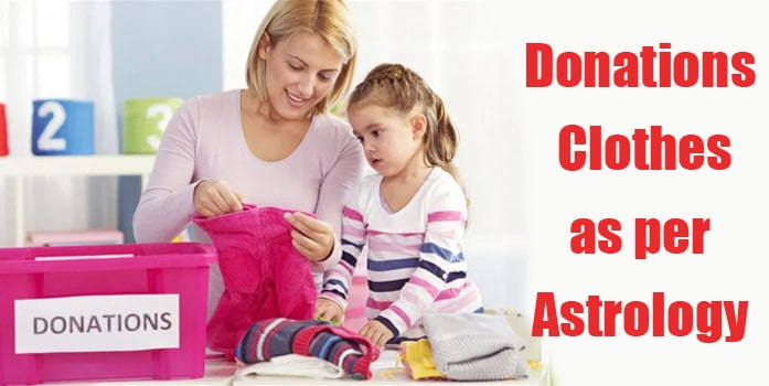 Why Donating Clothes is Good - Astrology