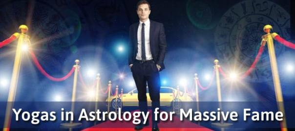 Yogas in Astrology for Massive Fame, Astrological Yogas