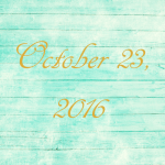 Astrology of Today – October 23, 2016