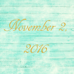 Astrology of Today – November 2, 2016